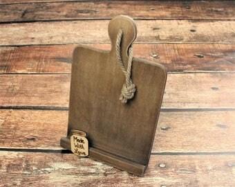 Cookbook Stand, Cookbook Holder, Rustic Kitchen Decor, Recipe Holder, Farmhouse Style, Bridal Shower Gift, Tablet Holder, Mothers Day Gift