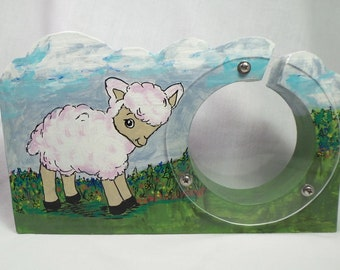 Moving Sale - Lamb Wooden Bank