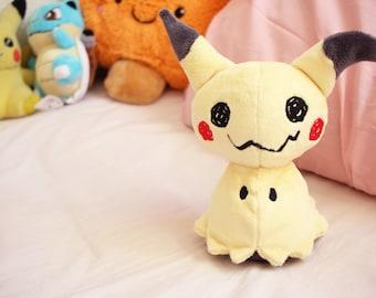 Mimikyu Plush Doll - Poekmon Fan Plushie Toy
