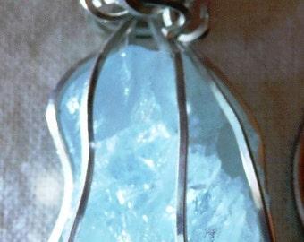 Translucent Aquamarine Necklace