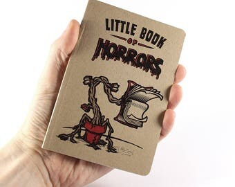 """Small Notebook """"Little Book of Horrors"""""""