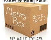 Mystery Box of Stamping and Scrapbooking Supplies; Hero Arts, Tim Holtz, Prima Marketing, Craft Supplies Lot