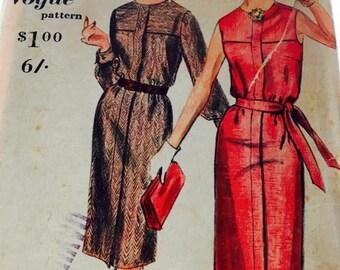 Vogue Shirt Dress 1960's