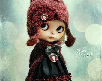Blythe Jacket FOREST KID By Odd Princess Atelier, Hand Knitted Collection