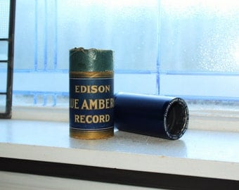 Antique Edison Cylinder Record 1552 Are You Going To Dance Phonograph Record
