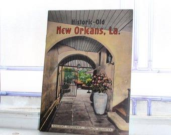 New Orleans Souvenir Book 1940s