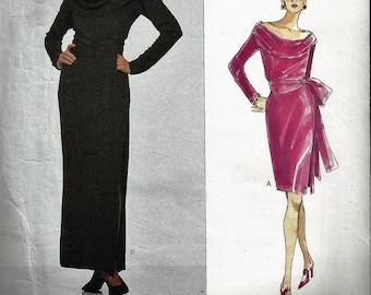 1994 YVES SAINT LAURENT for Vogue Paris Original Pattern1499 Misses Sz 14-18 Uncut Factory Folded oop