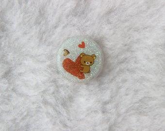 Rilakkuma Love Pin