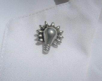 Lightbulb Lapel Pin - CC164
