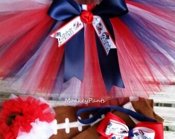 New England Patriots Tutu -  Sports Theme Tutu - Patriots Baby Girl - Girls - Adults