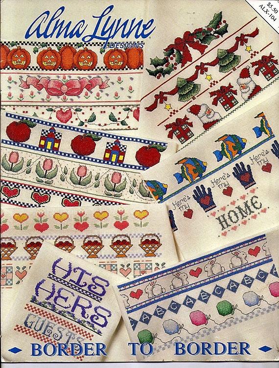 Alma Lynne Border To Border Counted Cross Stitch Pattern