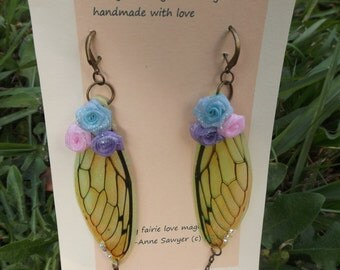 fairie fairy earrings