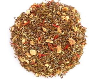 Herbal Tea, ORANGETOPIA , Green Rooibos, Nightcap, Orange Tea, Organic, Fruit Tea, Iced Tea, Citrus Herbal Tea, Hot Tea, Tea Blend, Eco Box