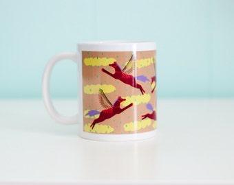 Pegasus Horse Coffee Mug- MARS