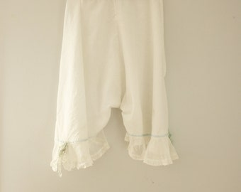 antique bloomers | vintage 1900s edwardian lingerie