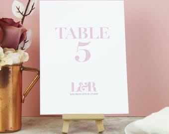 Wedding Table Names - 'Millie' Table Names - Wedding Signs - Table Names - Wedding Table Number - Wedding Decor