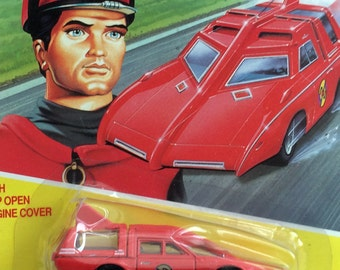 Captain Scarlet and the Mysterons. Captain Scarlet's Spectrum toy car in it's original packaging. 1993.