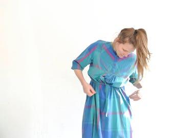 90s ethno grunge dress