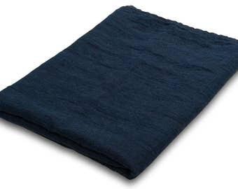 Blue  bathroom sauna towel linen natural,high quality linen bath sheet, eco friendly, baby bath towel