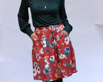 Michaela skirt with pockets
