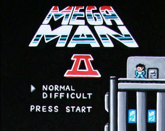 """SVGL Super Art Print - Megaman 2  6"""" x 18"""""""