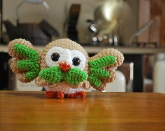 Crochet Chibi Rowlet