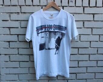 Vintage 1989 HENRY LEE SUMMER Shirt Size L Large Screen Stars tag I've Got Everything Tour live concert pop rock