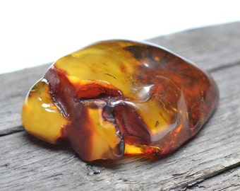 Massive Baltic Amber fossil Stone 75g. - Collector Item - Natural Amber Rock