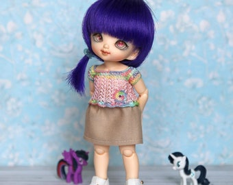Blouse for pukifee and realpuki - choose colors of shirt - top, outfit, clothes