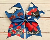Red Cheer Bow, Summit Glitter Cheer Bow, Cheerleader Gift, All Star Cheer, Glitter Cheer Bow, Polka Dot Cheer Bow, Blue Cheer Bow, Summit
