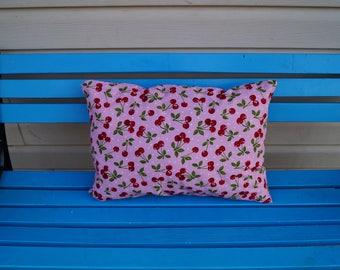 Pinup cherry pillow, pinup home decor, pinup decor, pinup, home decor, cherry pillow, cherry