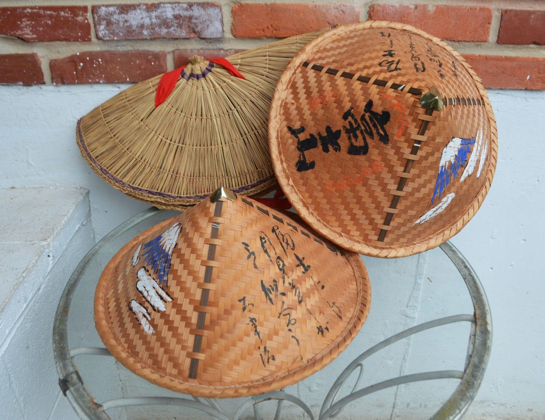 Asian Straw Hats 20