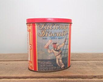 Saltina Biscuit Tin