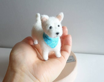 Needle Felted West Highland Terrier