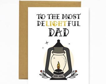 Most Delightful Dad (Father's Day Card)