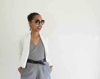 100% Wool ,Sophisticated romper / jumper / jumpsuit / pantsuit / onesie