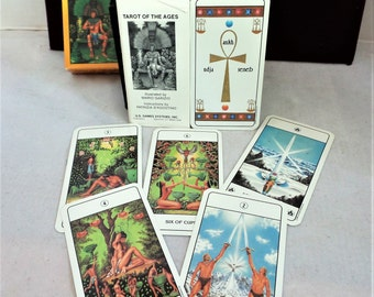 Vintage Tarot of The Ages Game Card Deck