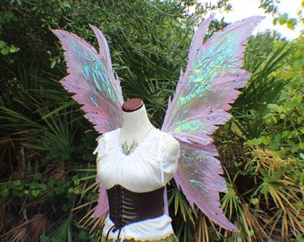 Custom XXX Large Purple Iridescent 4 Wing Faerie Queen Inspired Wings