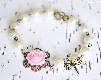 Flower Girl Gift, Flower Girl Bracelet, Flower Girl Gifts, Childrens Jewelry, Infant Jewelry, Birthday Gift, Christmas Gifts, Wedding Gifts
