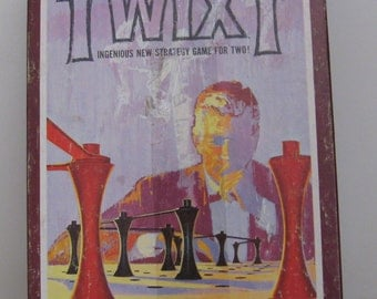 Twixt Strategy Board Game - 1976 Vintage - Avalon Hill - Rare