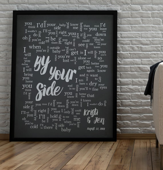 By Your Side Sade 1st Anniversary Wedding Song Lyrics