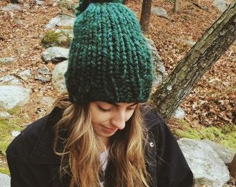 Forest Green Beanie