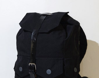 Black Backpack with Laptop compartment