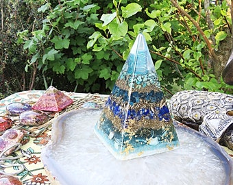 Powerful Orgone Pyramid - Psychic Acuity - FREE WORLDWIDE SHIPPING!