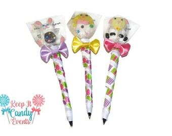 Easter Lollipop Pen, Easter, Lollipop, Pen, Lollipen, Candy, Candy Pen, Easter Candy, Easter gift, Easter Egg, Boy, Girl, Gift, Easter Candy