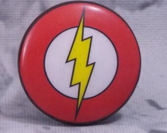 """1-1/2"""" Flash Dresser Knobs - Flash - Super Hero Knobs"""