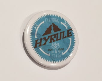 Legend Of Zelda badge- Hyrule Climbing Club