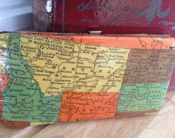 United States Map Wallet