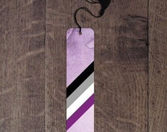 Asexual flag bookmark
