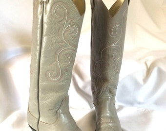 Vintage Larry Mahan Western Boots Women's Size 7
